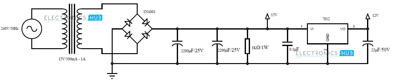 12v battery charger with auto cut off circuit diagram pdf