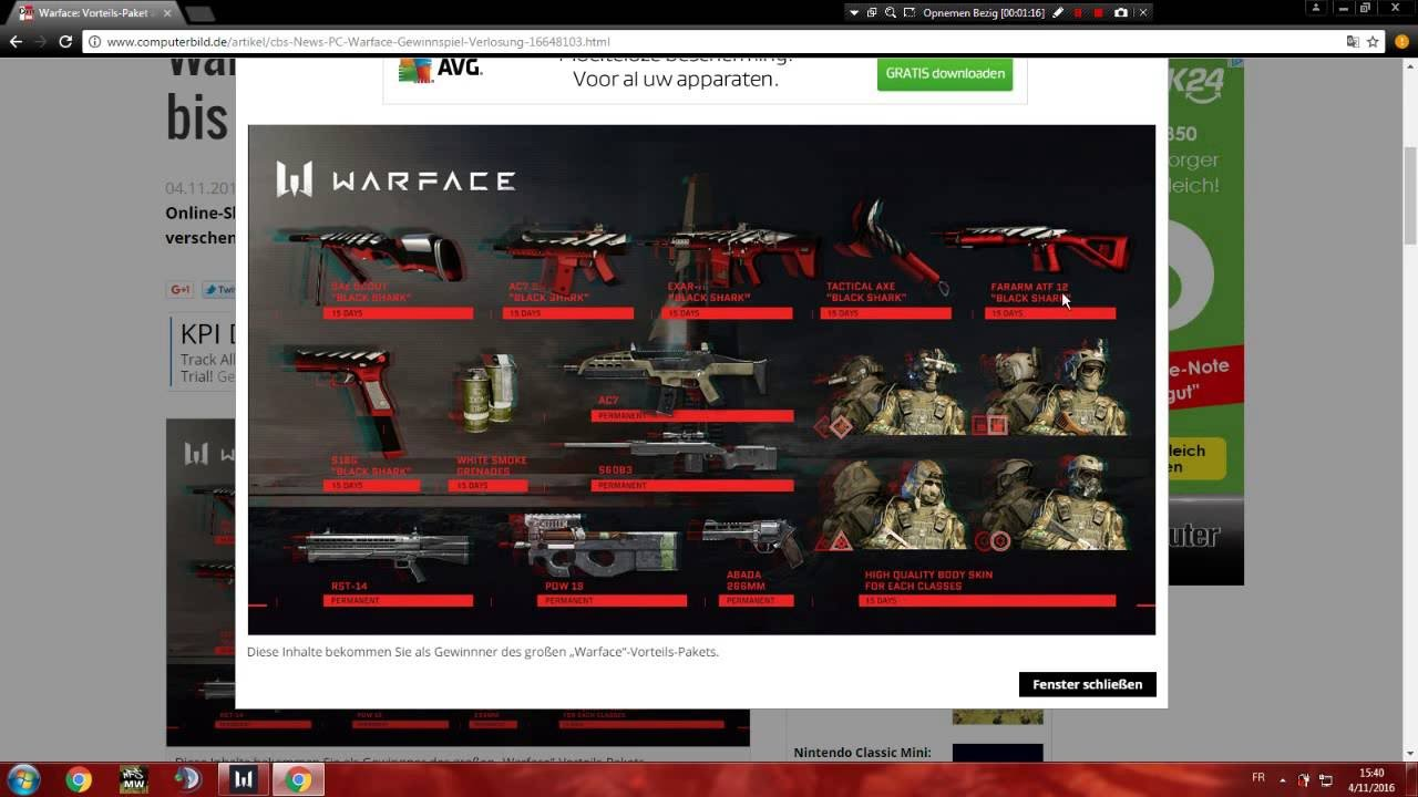 Warface how to buy permanent weapons
