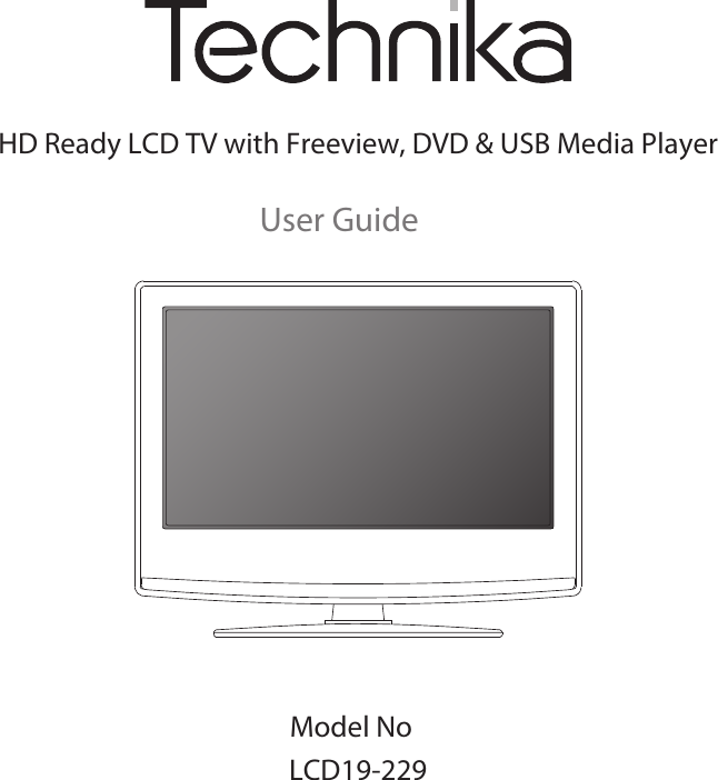 Technika pdf manual for model b59mti