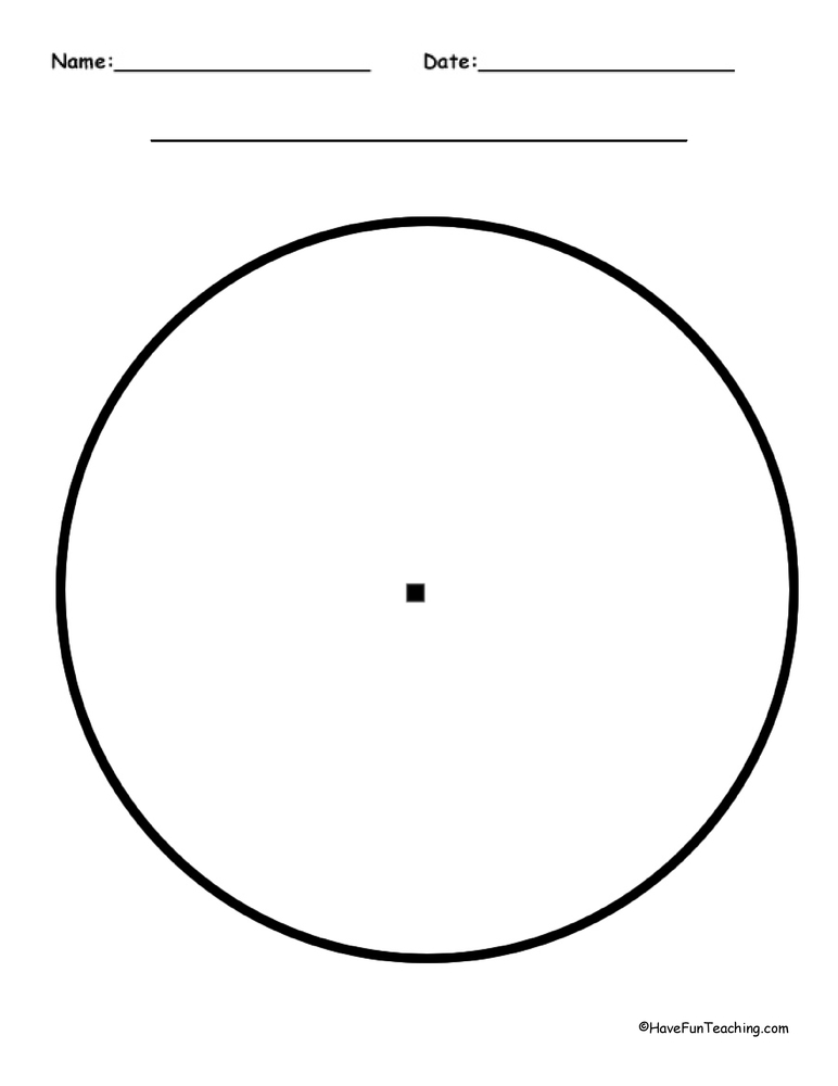 Empty circle graph with guids