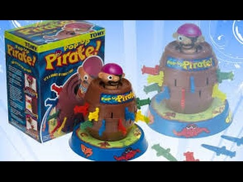 pop up pirate game instructions