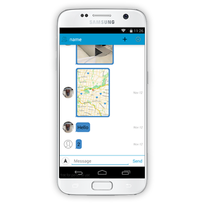 Fcm chat application in android