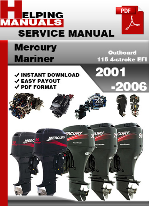 2004 mercury 90hp 4 stroke manual