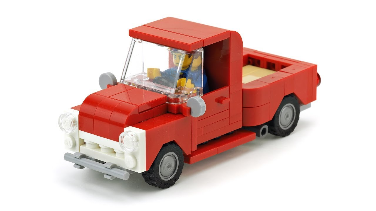 how to build a lego pickup truck instructions