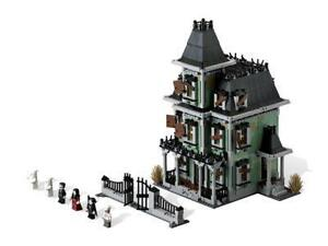 lego monster fighters haunted house instructions