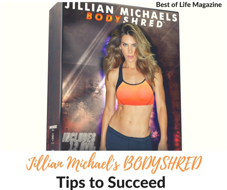 jillian michaels body shred instructions