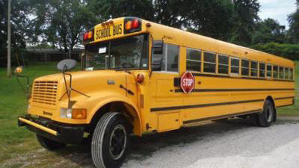 International school bus service manual