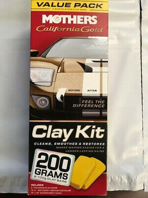 mothers california gold clay bar instructions