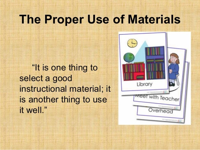 evaluating instructional materials checklist