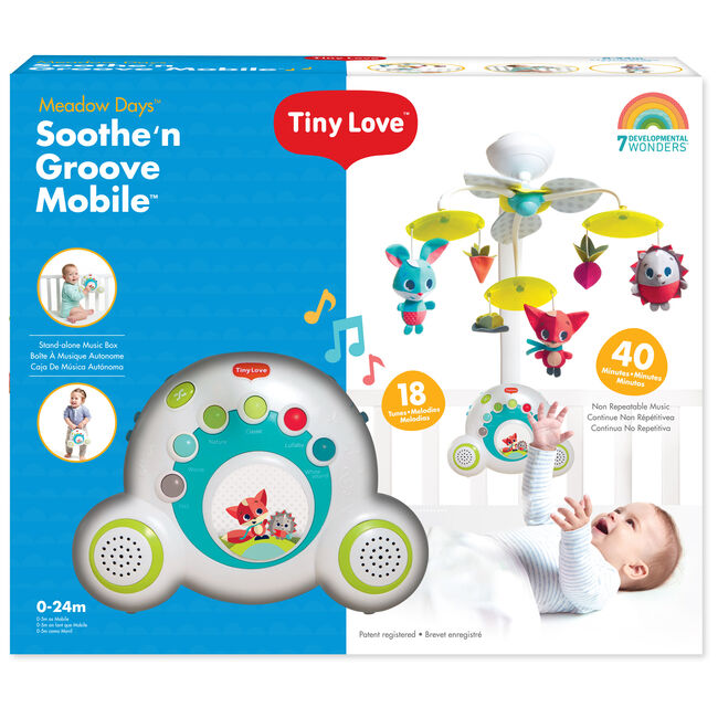 Tiny love soothe n groove mobile instructions