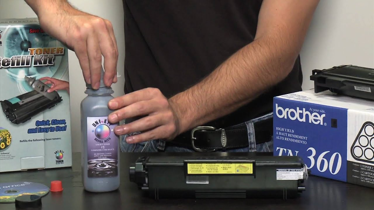 Brother toner refill instructions