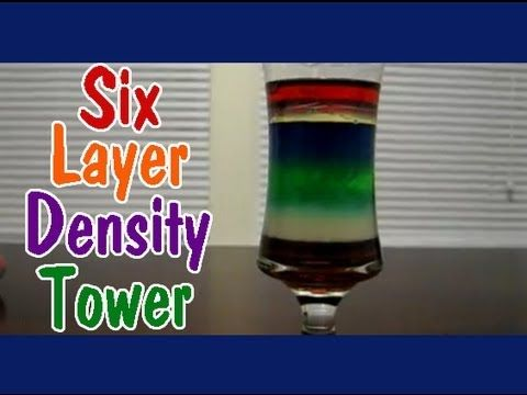 creating a density tower instructions