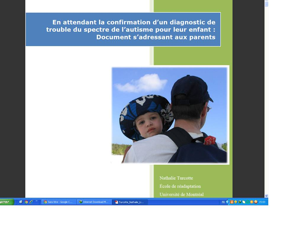 Documentation sur l autisme