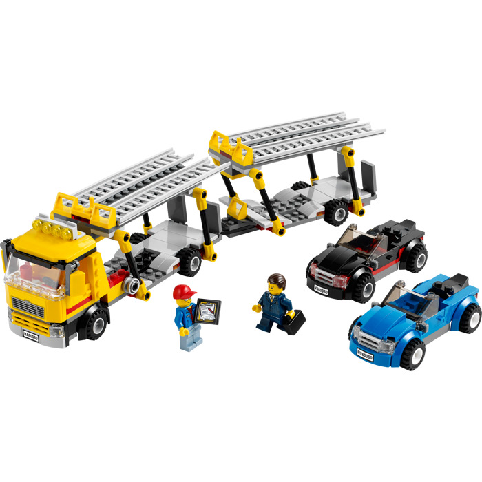 lego city auto transporter 60060 instructions