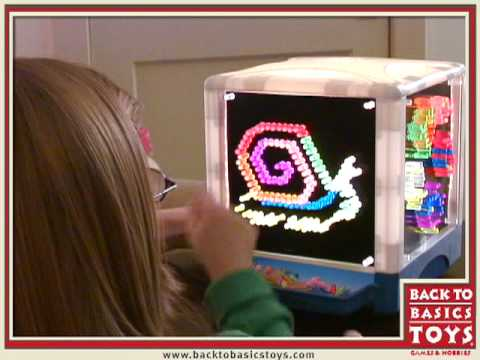 lite brite cube instructions