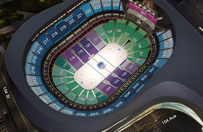 Rogers place edmonton seating guide