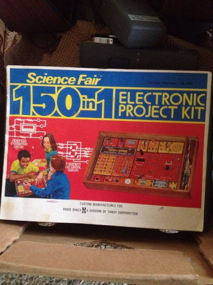 Science fair 150 in 1 electronic project kit manual