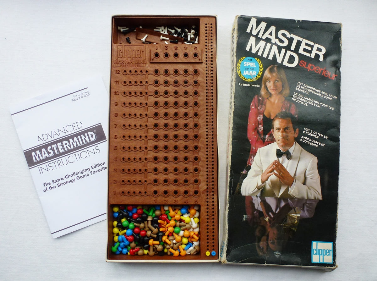super mastermind board game instructions