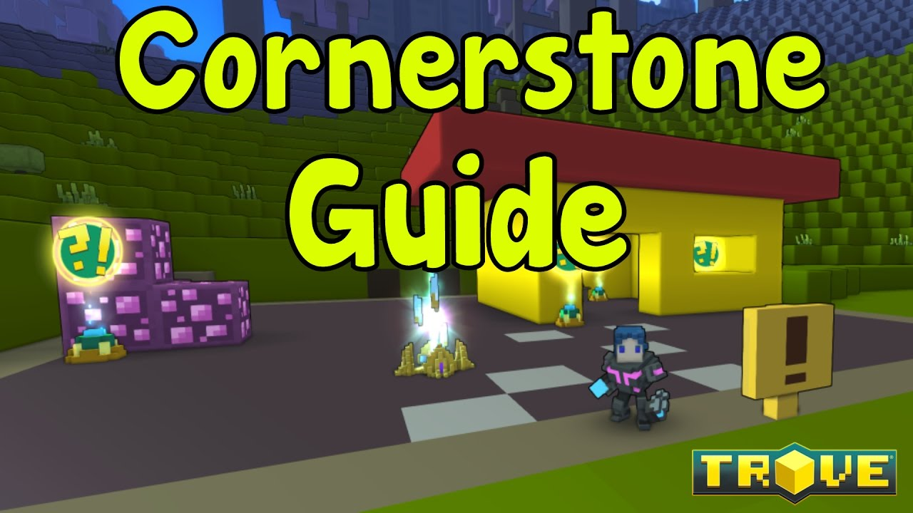 Trove how to find cornerstone