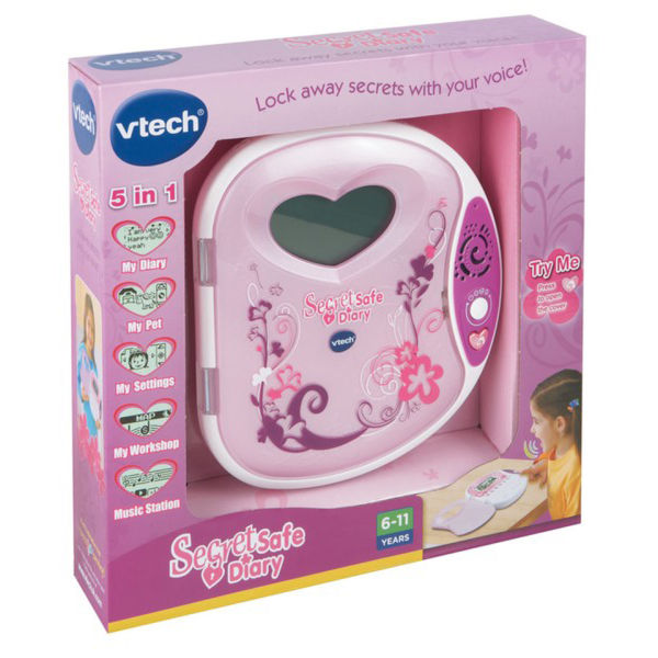 vtech secret safe diary visual manual