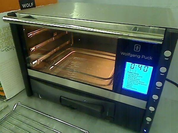 wolfgang puck convection oven with pizza drawer manual