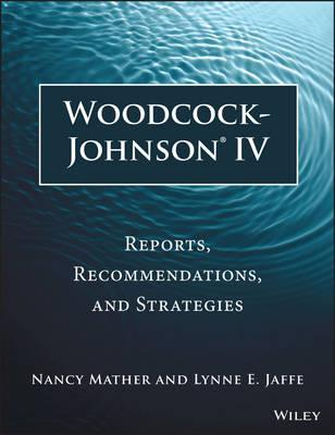 Woodcock johnson iv scoring manual